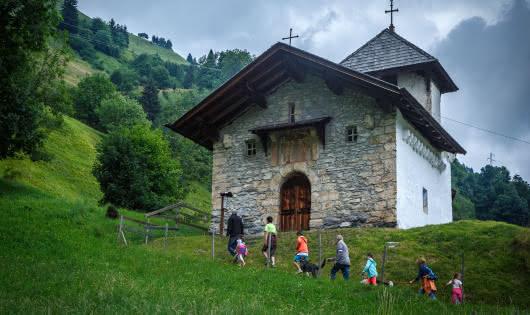 Chapelle Saint Agathe à Belleville