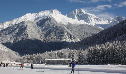Pistes de ski de fond Bozel