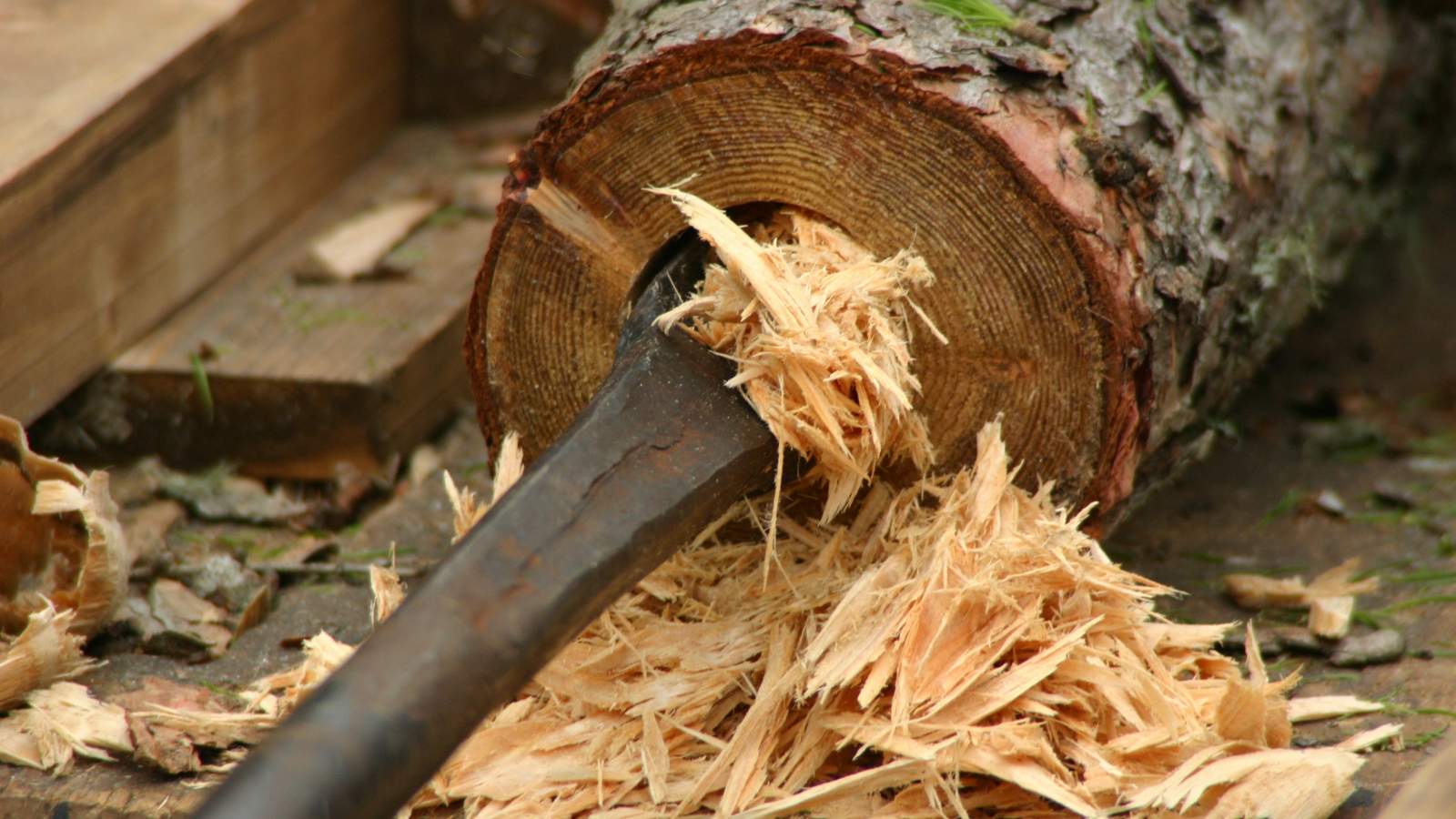 Tuyaux en bois