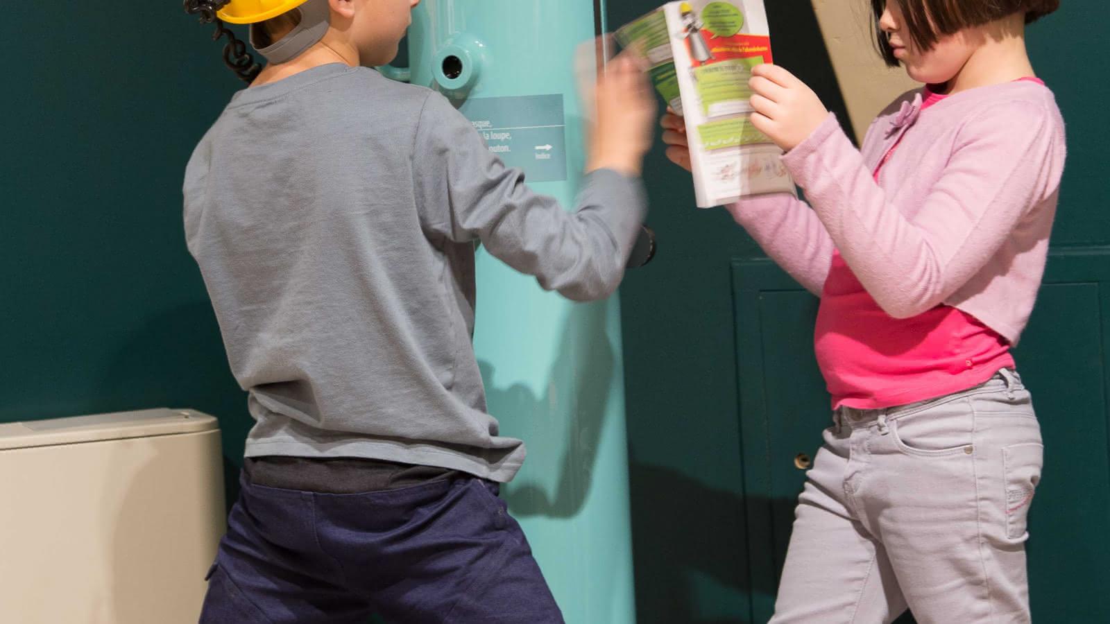 Parcours de découverte pour les enfants de 7 à 12 ans