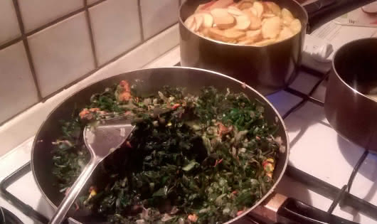 cuisson des plats chauds
