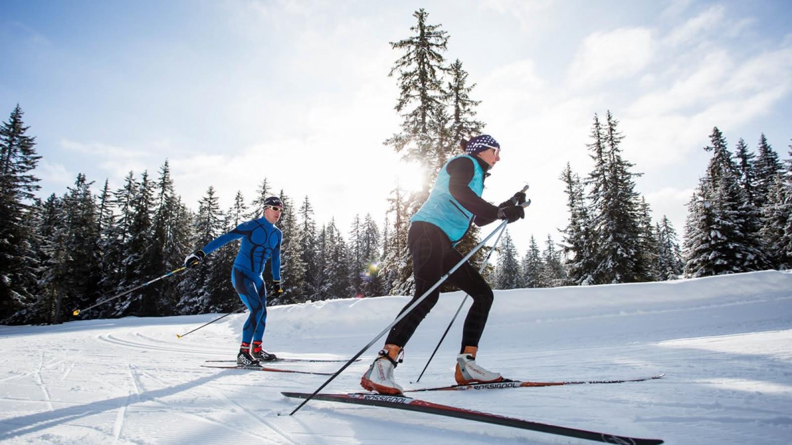 Ski nordique aux Saisies au coeur des grands espaces