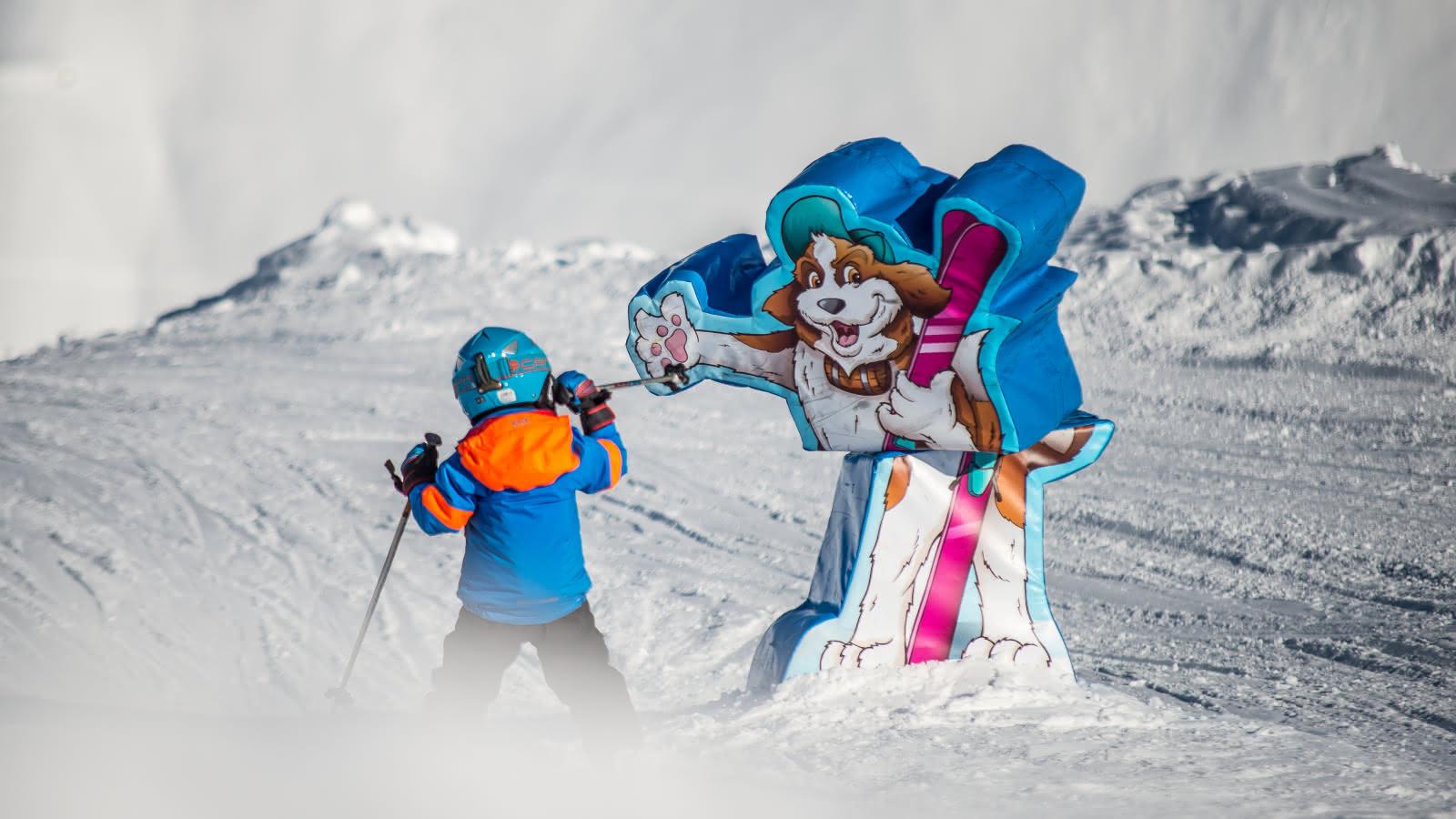 Ski en famille à La Rosière