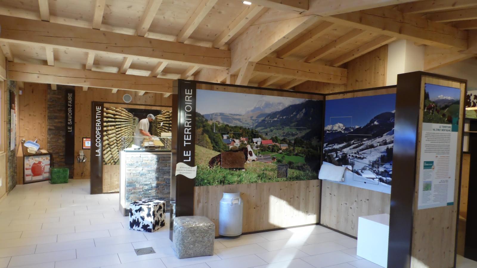 Espace Muséo dédié à l'agriculture de montagne et savoir-faire fromagers