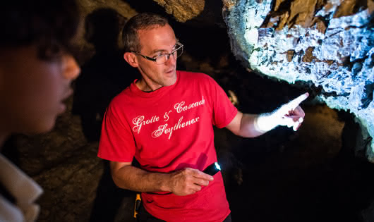 Grotte et Cascade de Seythenex - Géosite