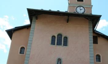 Notre-Dame-du-Pré: main façade of church