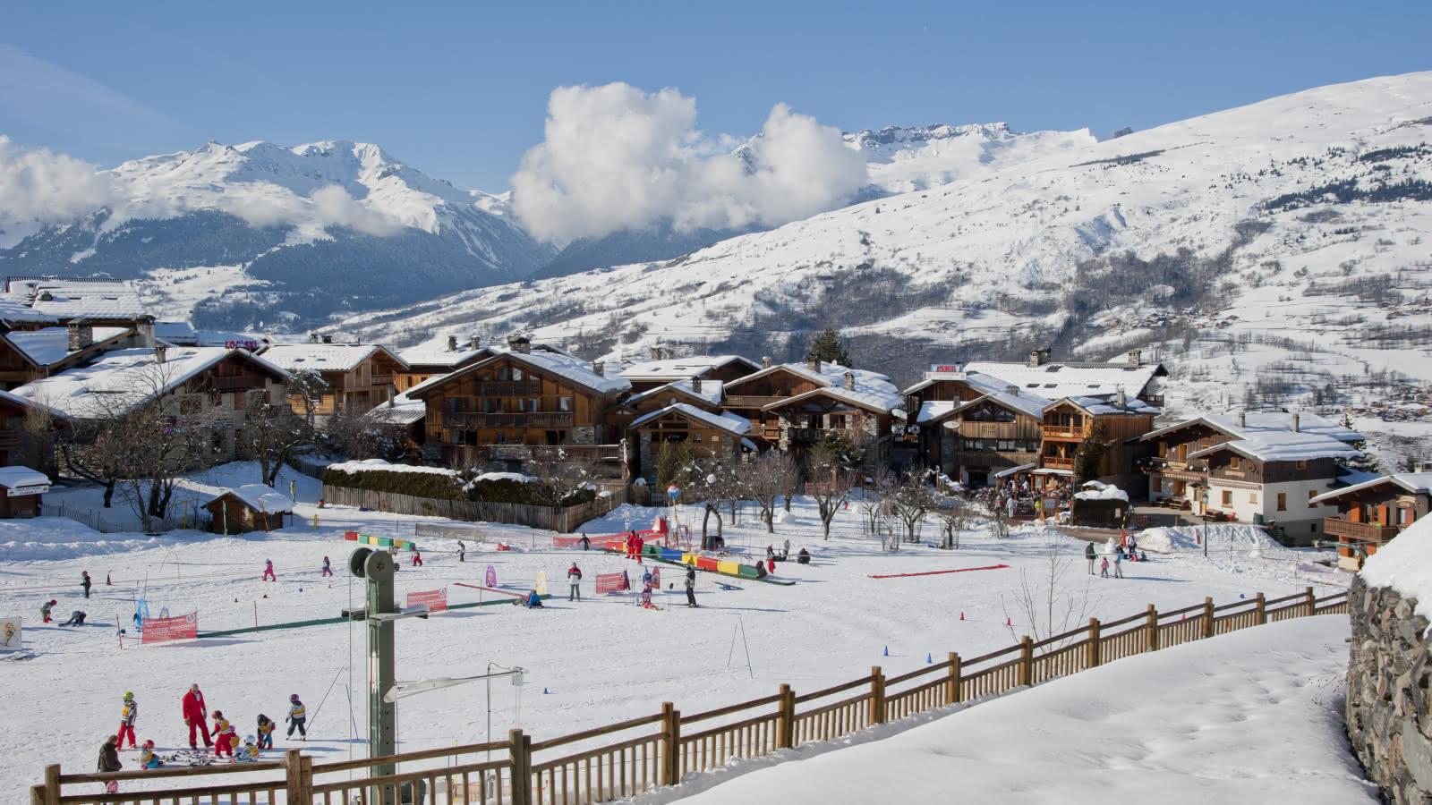 Front de neige Montchavin