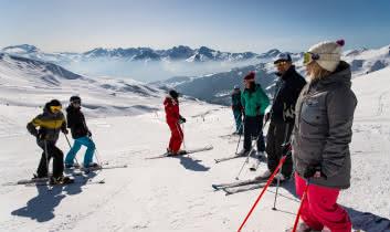 Ski entre amis à SFL