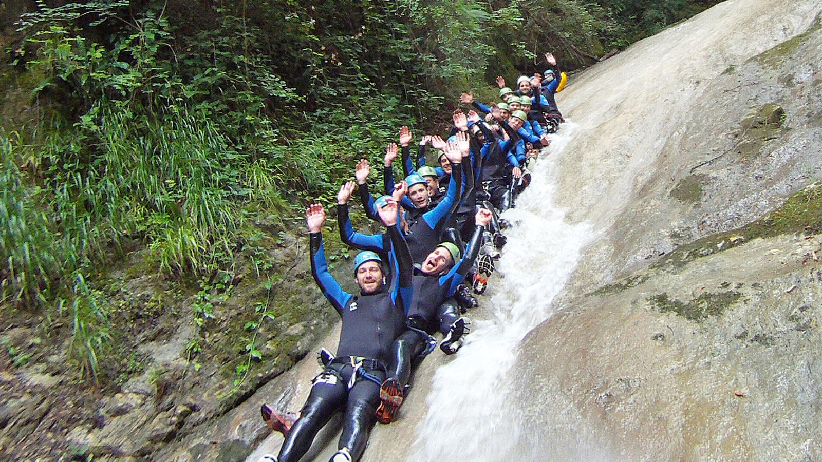 Canyoning entre amis