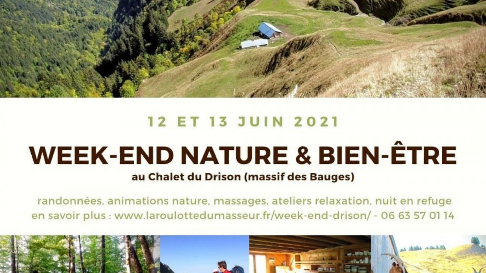affiche photos montagne