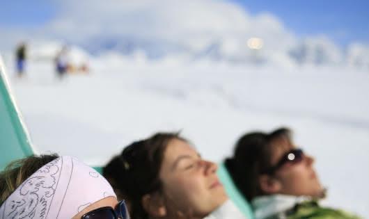 Détente printemps du ski Les Saisies
