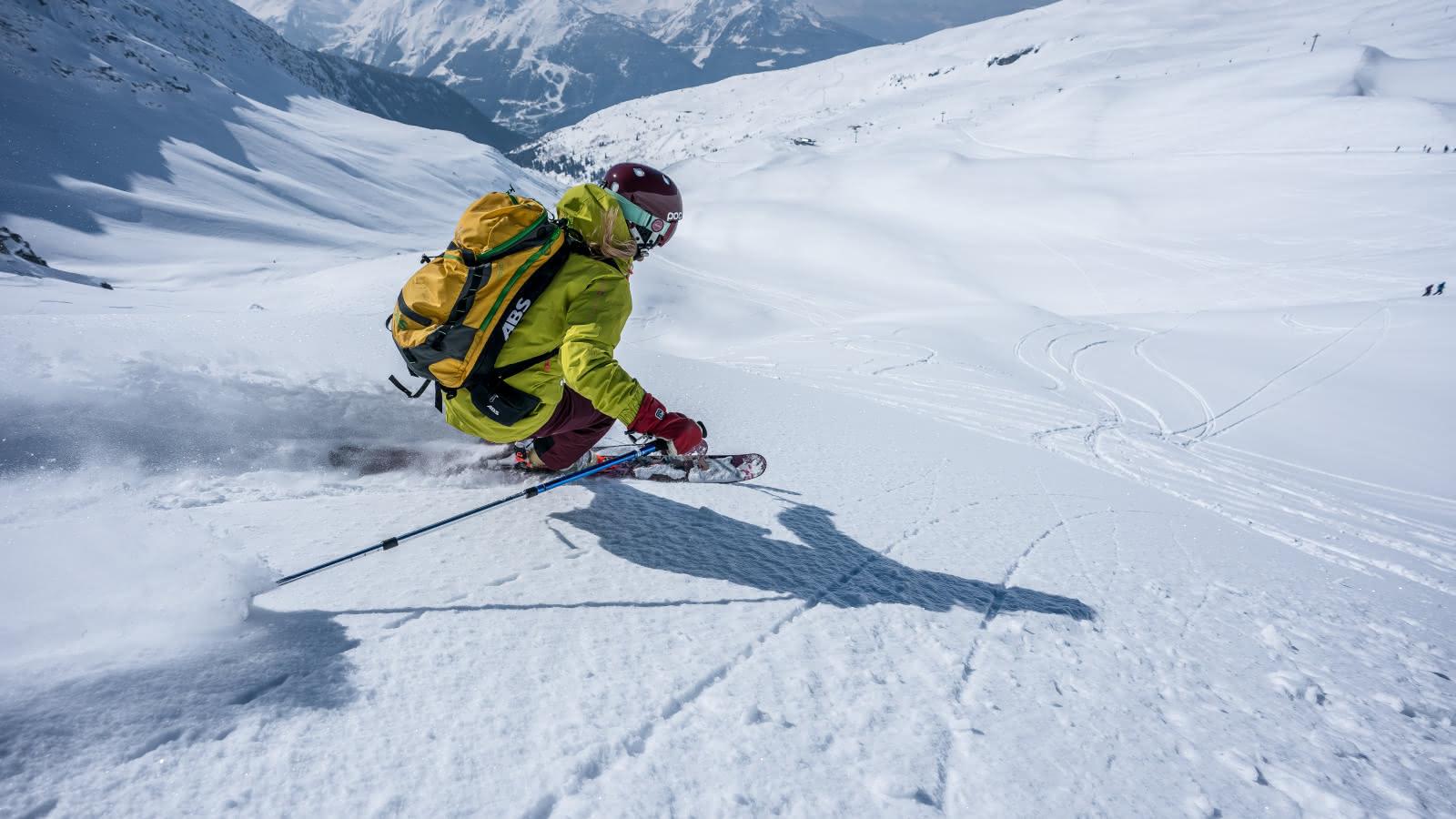 ski freeride Mont Valaisan