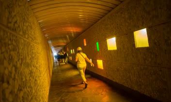 Couloir de la centrale EDF La Bâthie