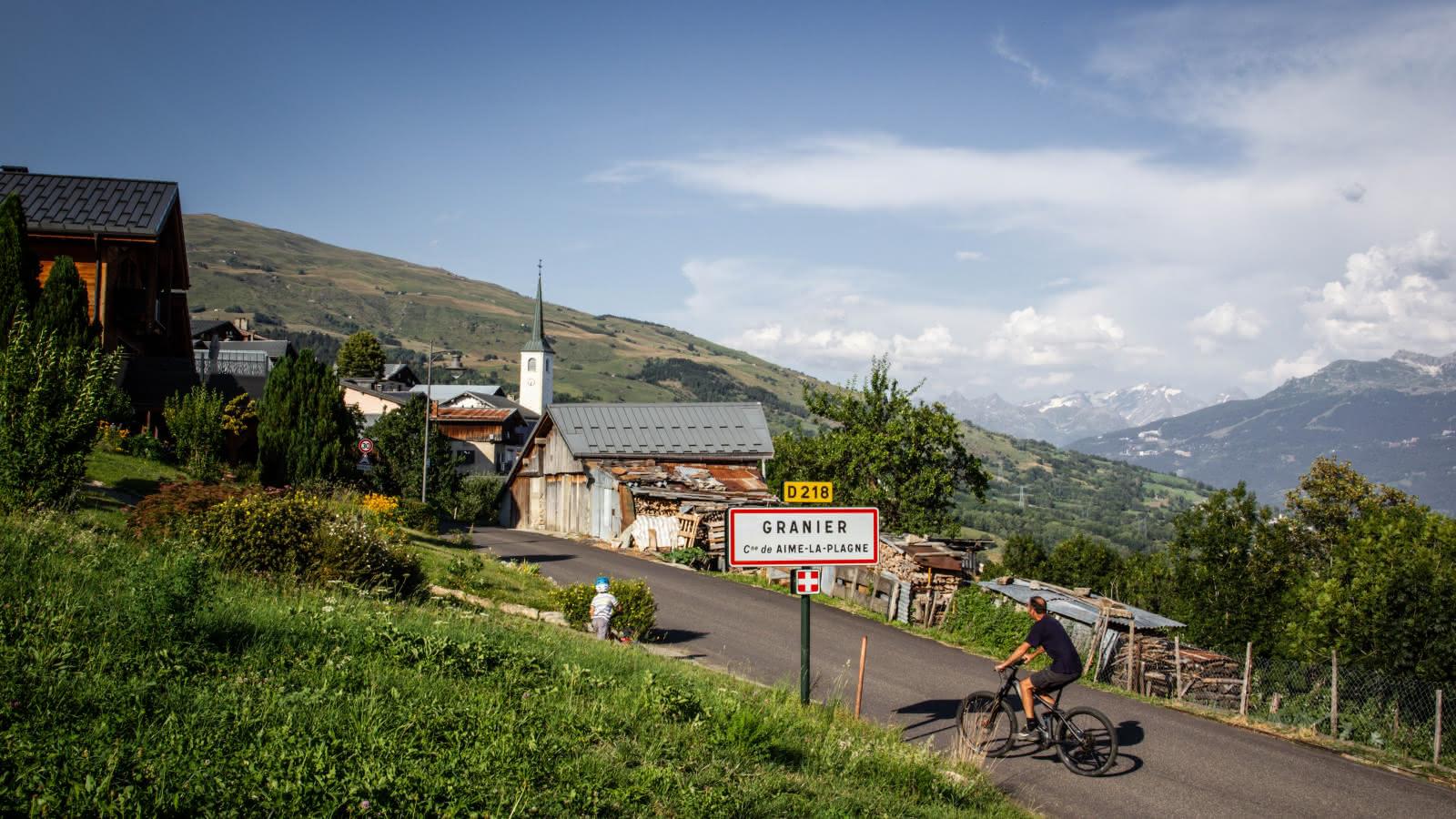 Granier Valley of La Plagne