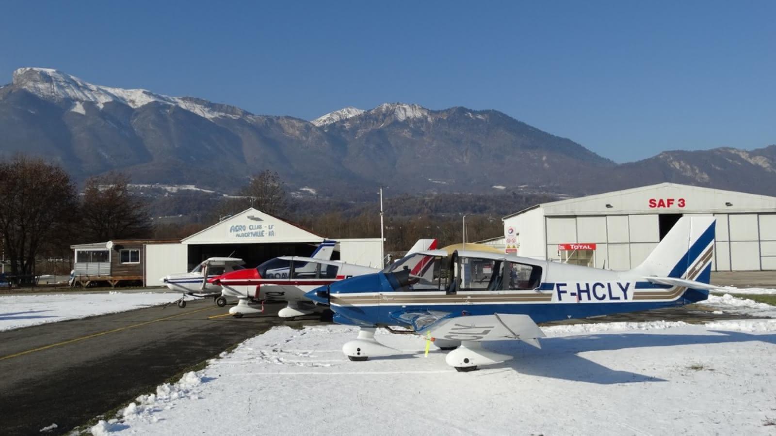 Flotte de l'aérodrome de Tournon - Albertville