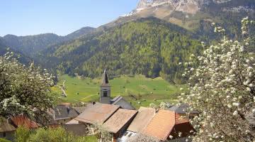 La Compôte, village typique des Bauges