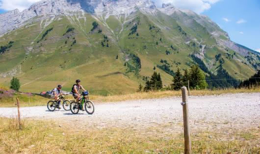 Tour du Val d'Arly en VTT Electrique