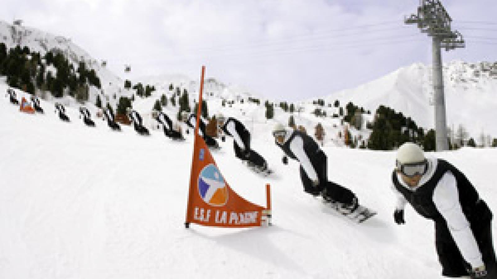 Border cross - ski cross - la Plagne