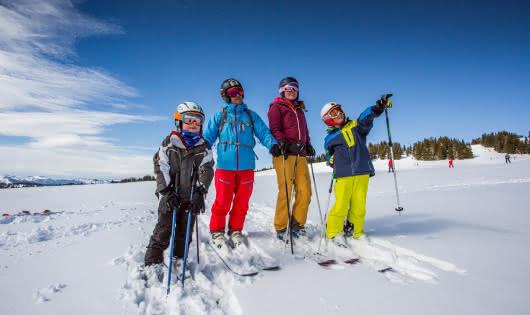 Ski plaisir en famille aux Saisies