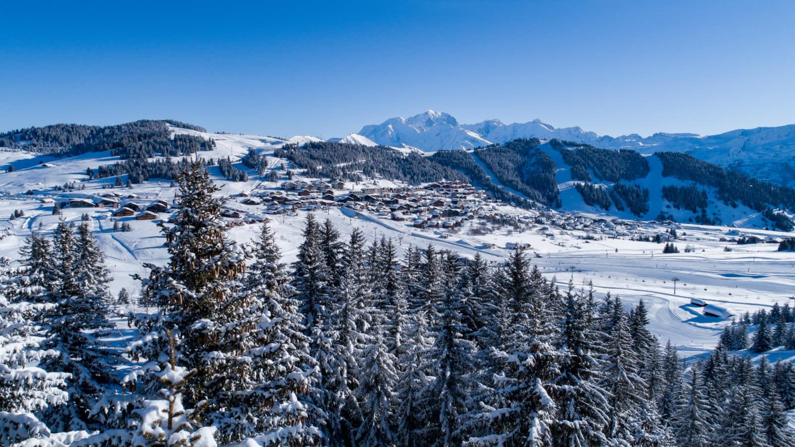 Les Saisies station village familiale au coeur de Savoie Mont-Blanc