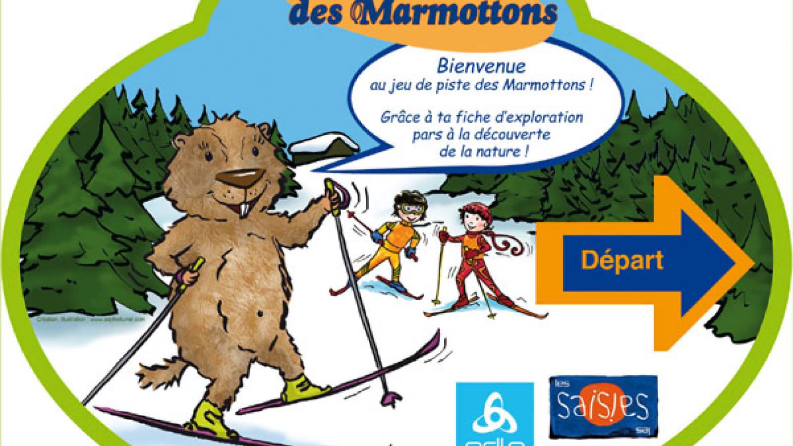 Balise d'information de la marmotte