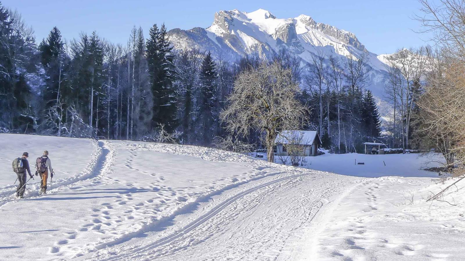 Site de ski nordique familial
