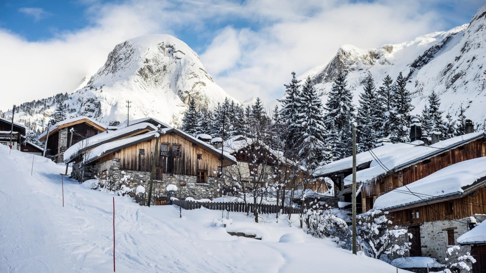 Domaine skiable - Vue sur le Moriond - Authentique