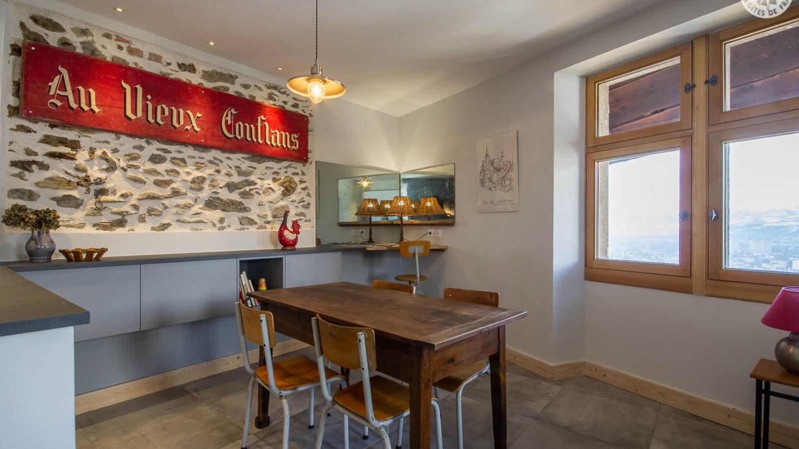 La Tour Ramus - La Poivrière - Conflans - 73G11109 salle à manger