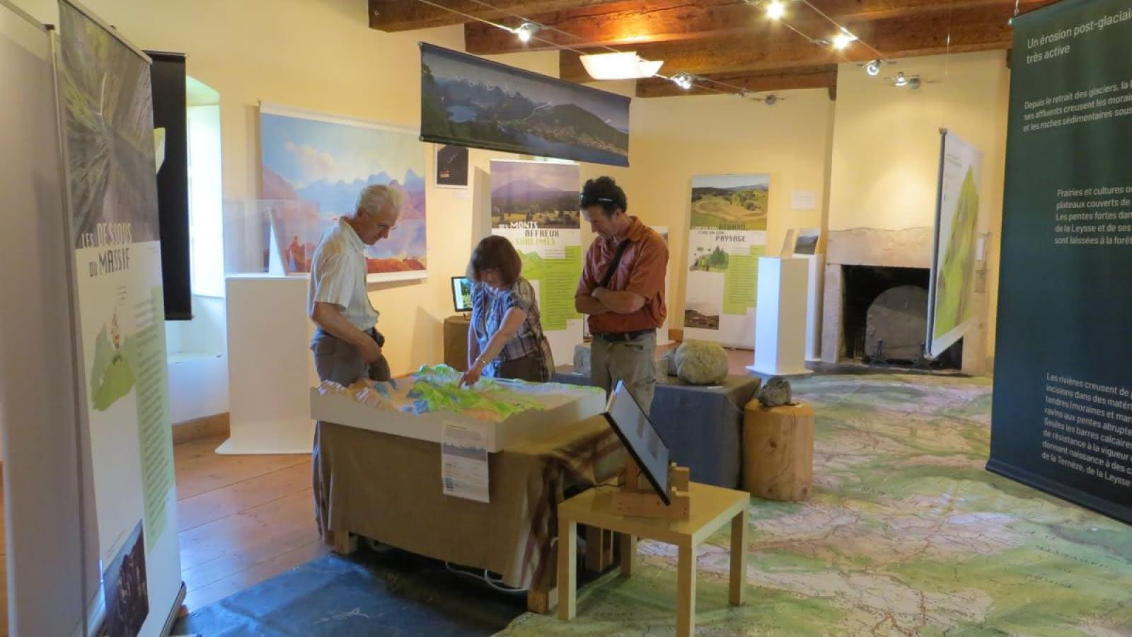 Les Bauges se dévoilent à la Chartreuse d'Aillon