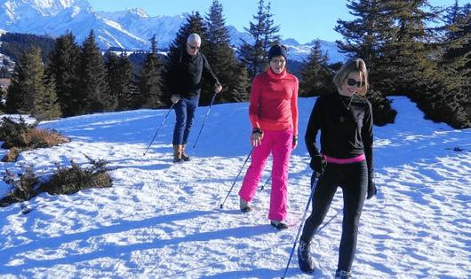 Marche nordique avec Anne-Marie