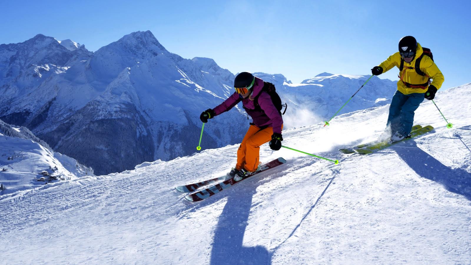 Ski à la Plagne