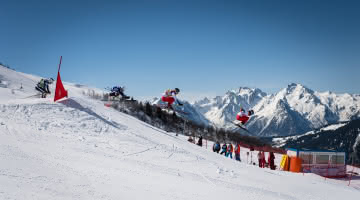 Coupe d'Europe de Skicross