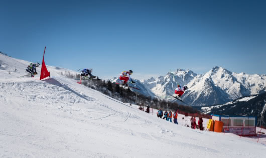 Coupe d'Europe de Skicross