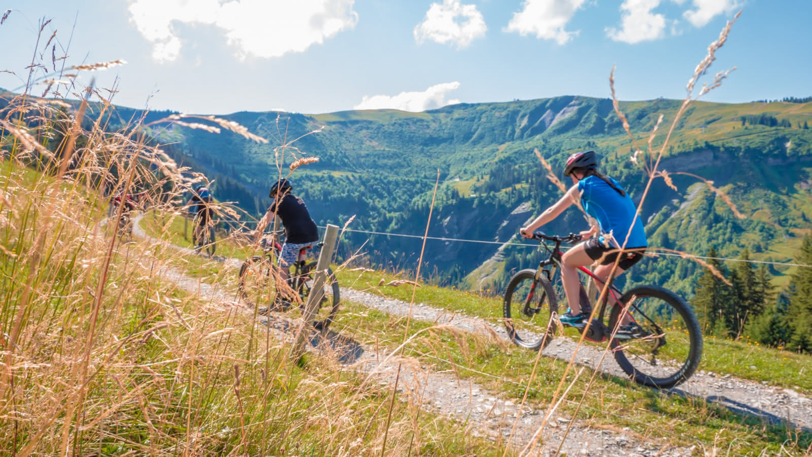 Tour du Val d'Arly VTT