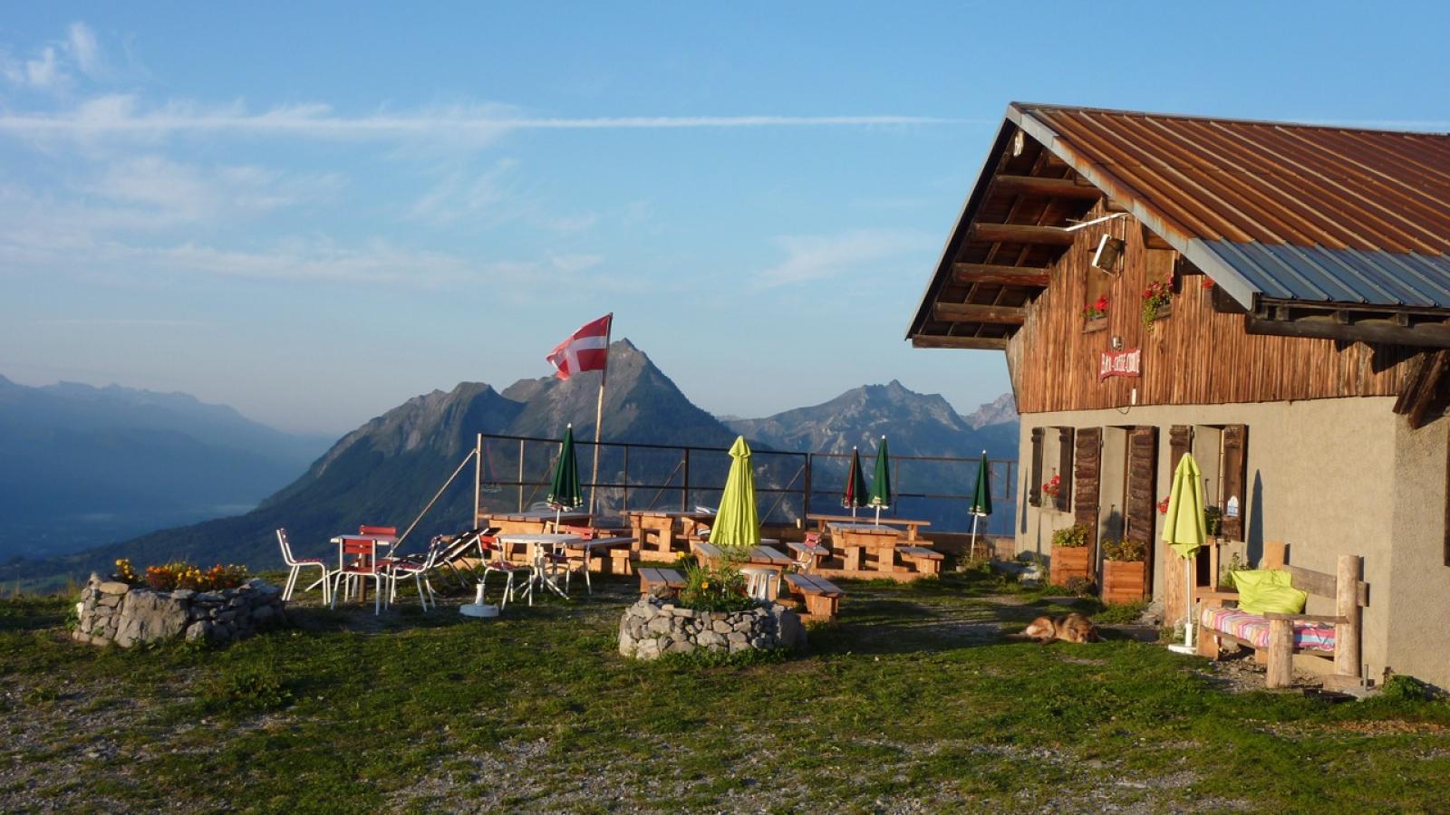 Restaurant du Col de l'Arpettaz