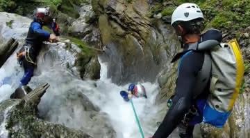 Canyoning Thonon
