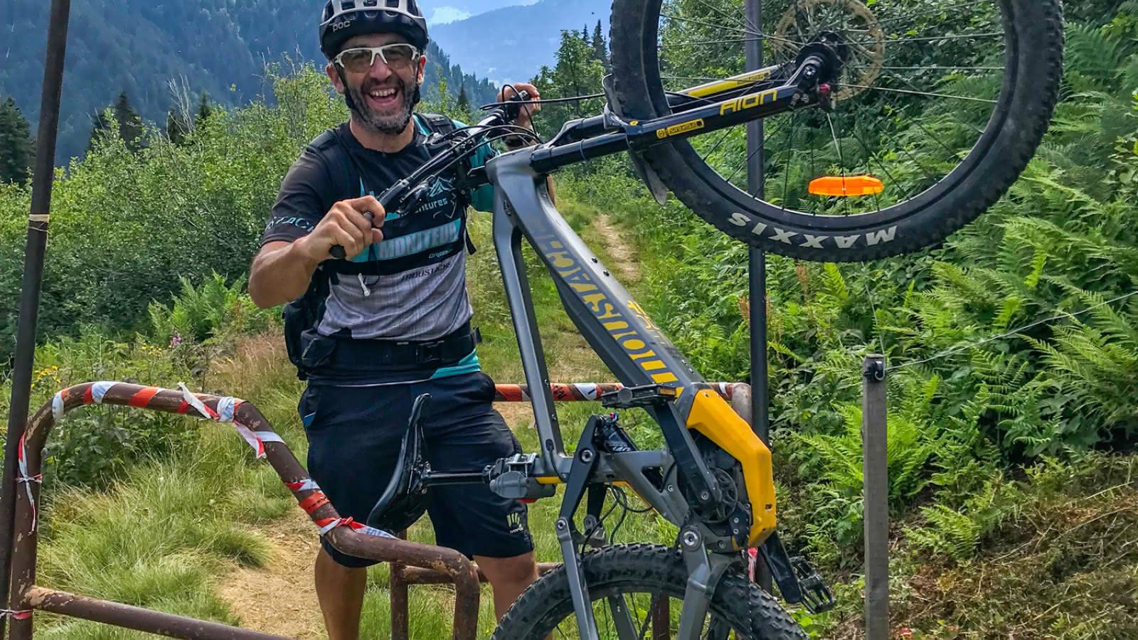 Val d'Arly E-Bike Tour - 19 et 20 septembre 2020 - Passage de parc
