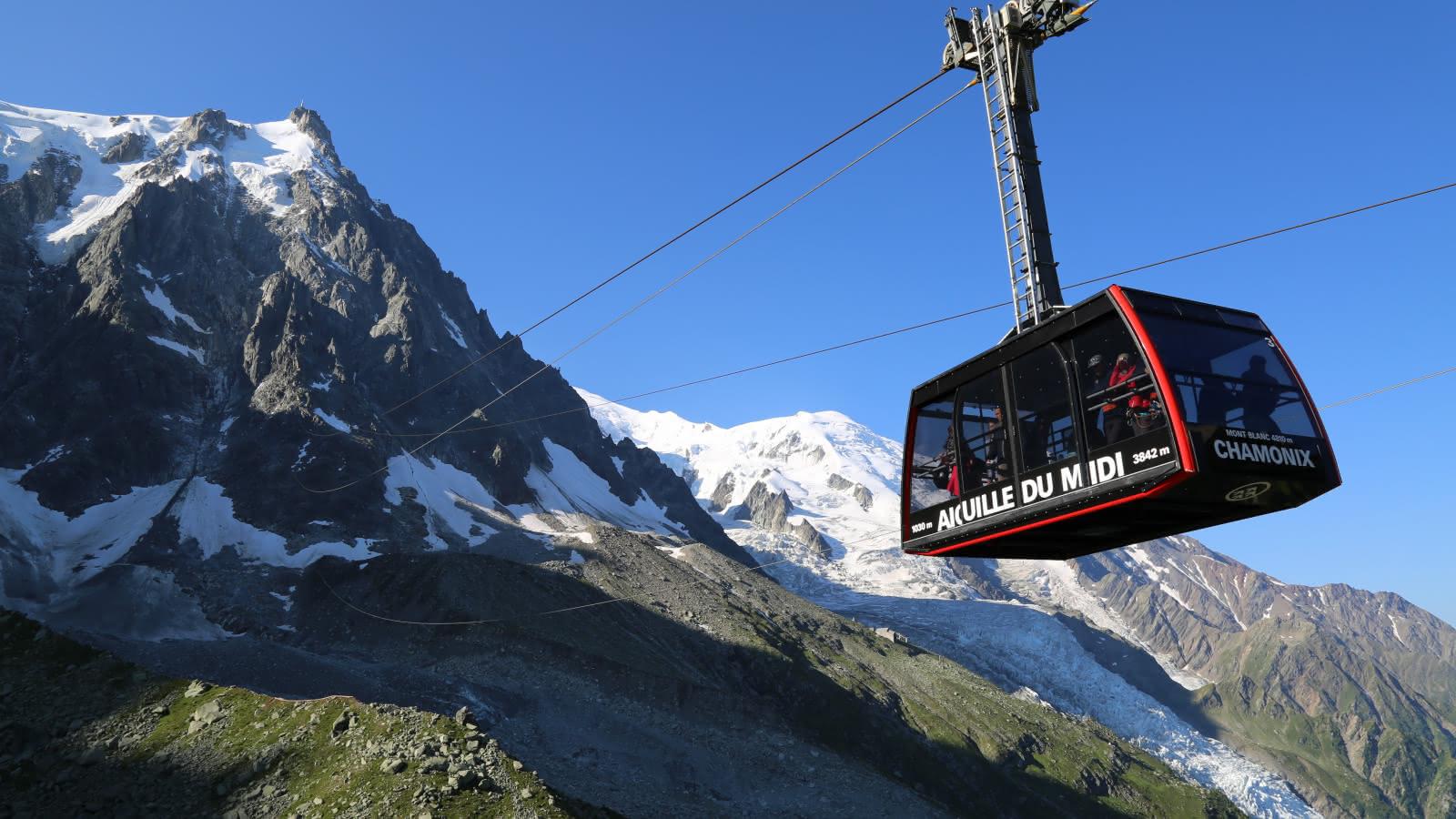 Téléphérique Aiguille du Midi