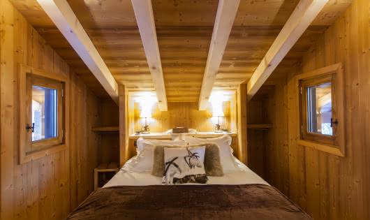 Cabanes entre Terre et Ciel - Chambre de la Cabane Mont-Blanc