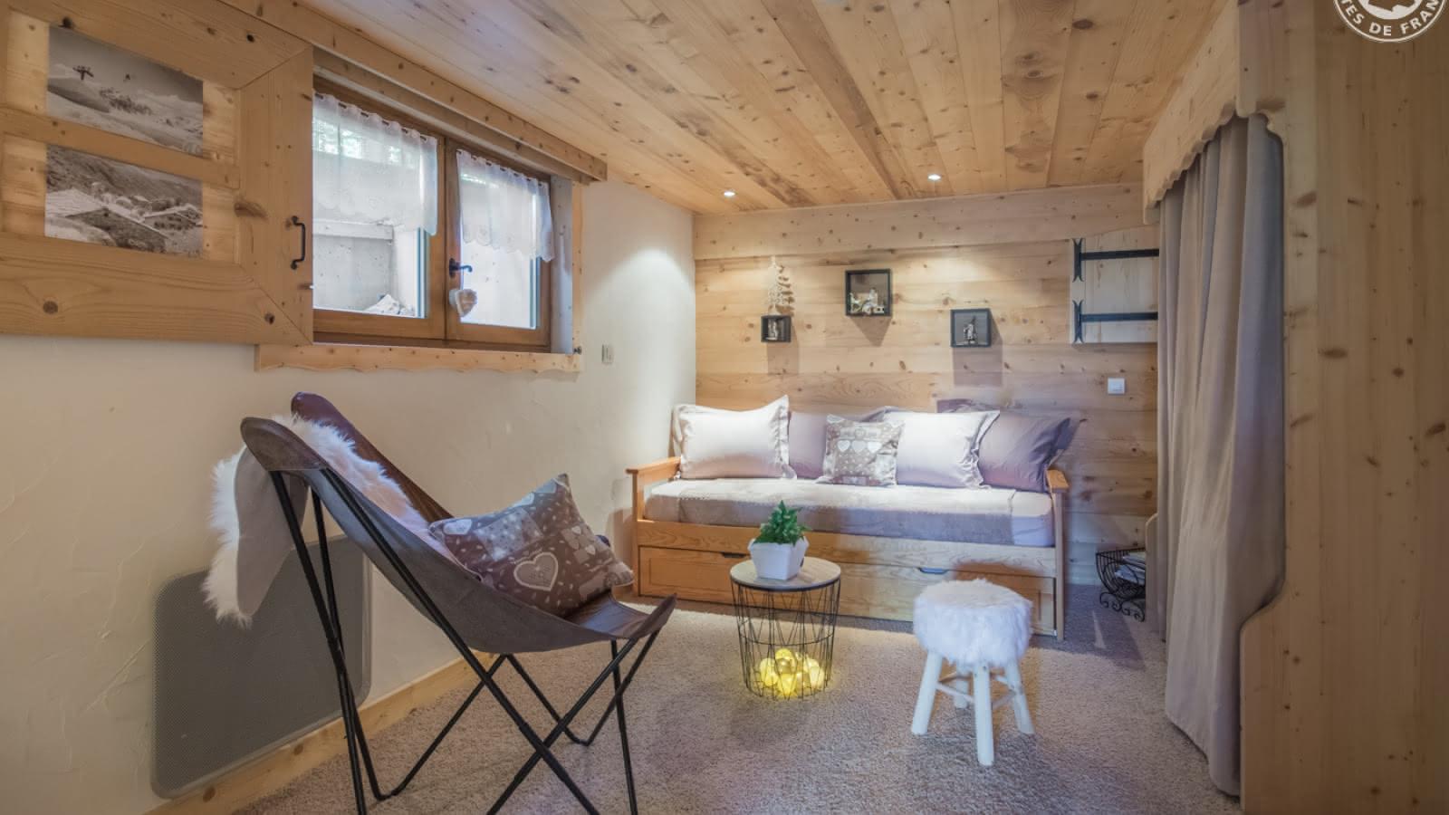 Canapé gigogne composé de 2 lits 1 personne avec remise à niveau