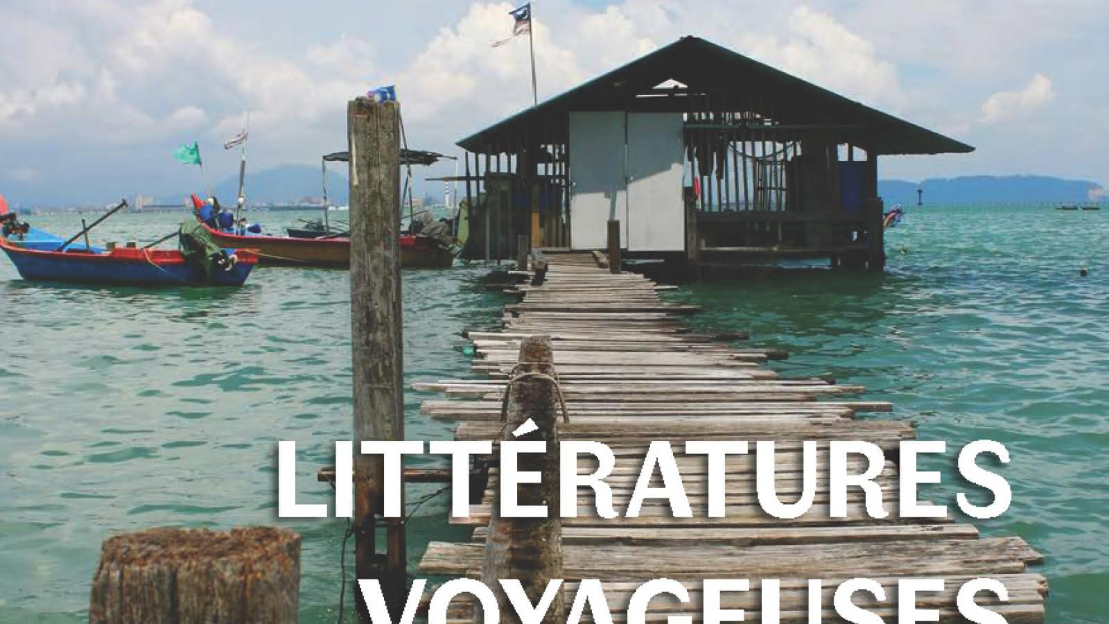 Affiche Littératures Voyageuses