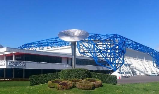 Halle Olympique exterieur