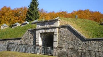 Vue de l'entrée du fort