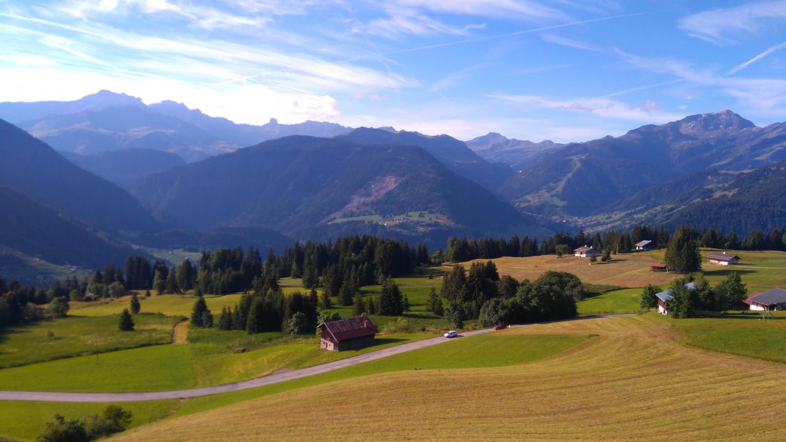 Le hameau des Pémonts