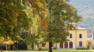arbres centenaires parc Simon Berger mairie Faverges