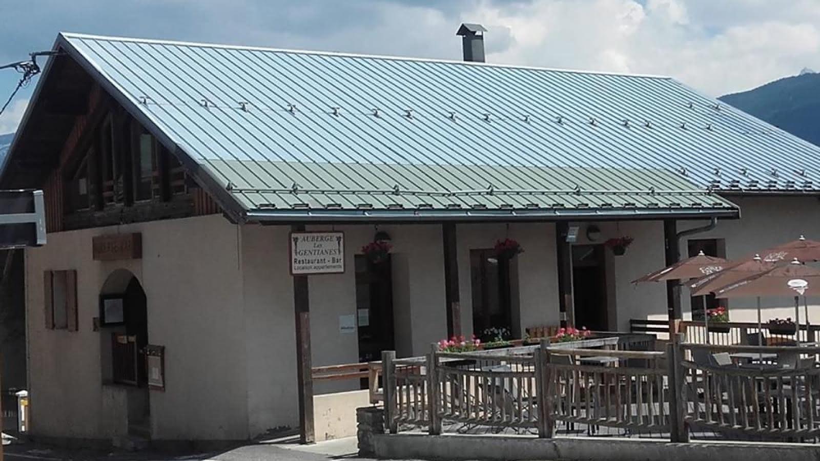 Auberge de Granier, vallei van la Plagne
