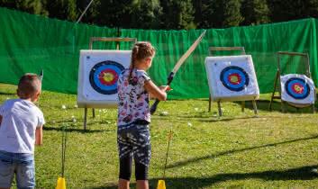 Initiation au tir à l'arc pour petits et grands