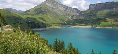 Le lac du Cormet de Roselend
