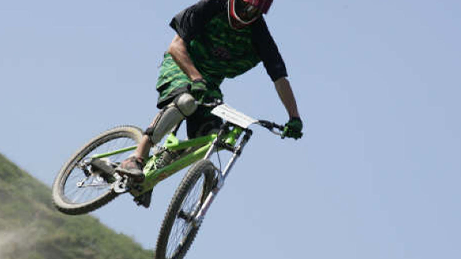saut bike park valmorel