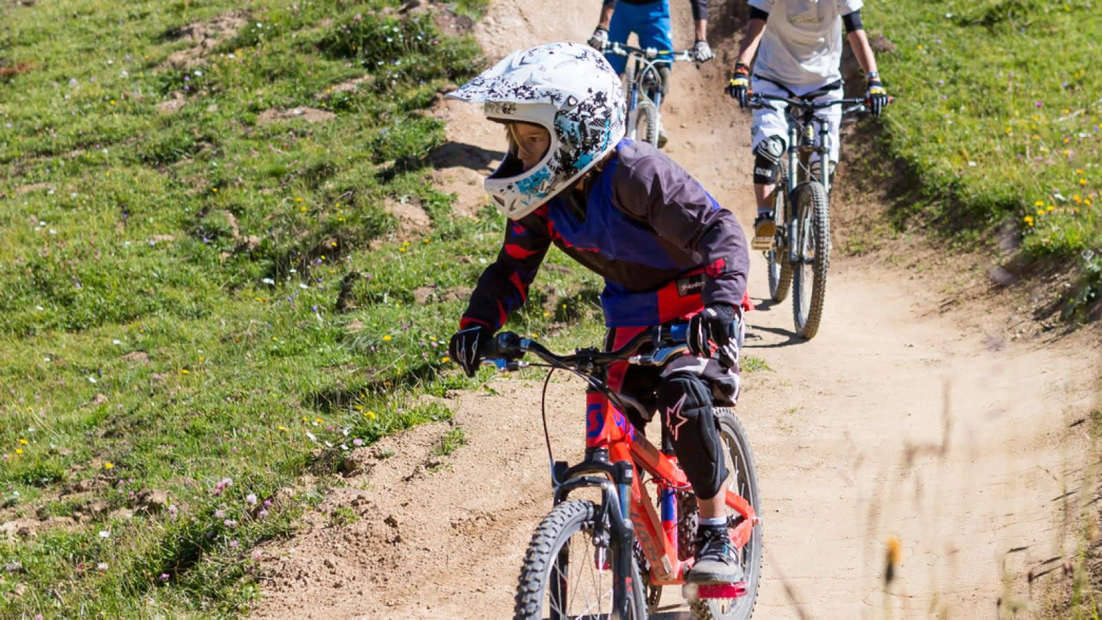 Shoshone bike park la Plagne